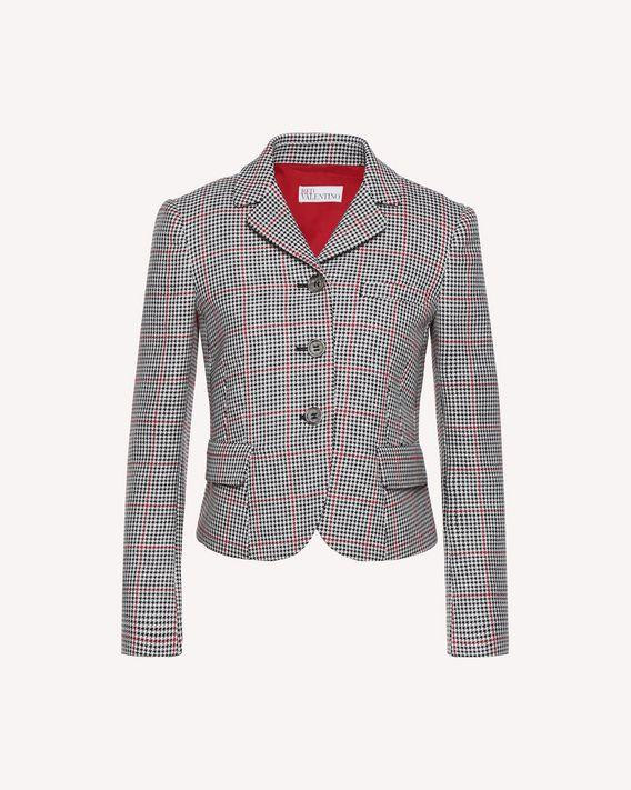 REDValentino Lightweight overcheck jacket