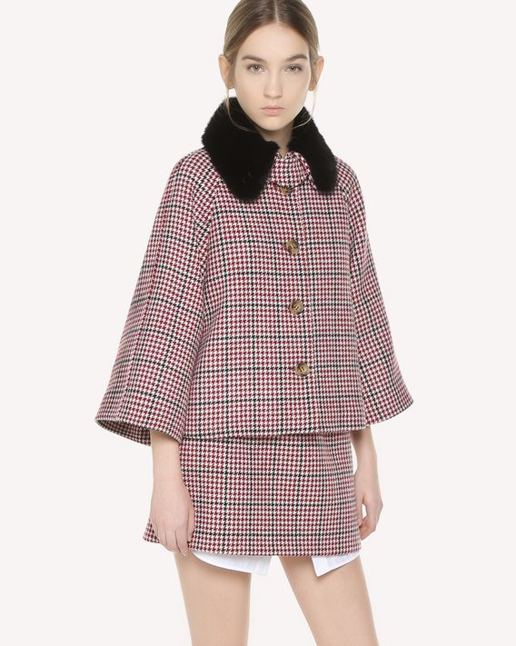 REDValentino Double Windowpane jacket