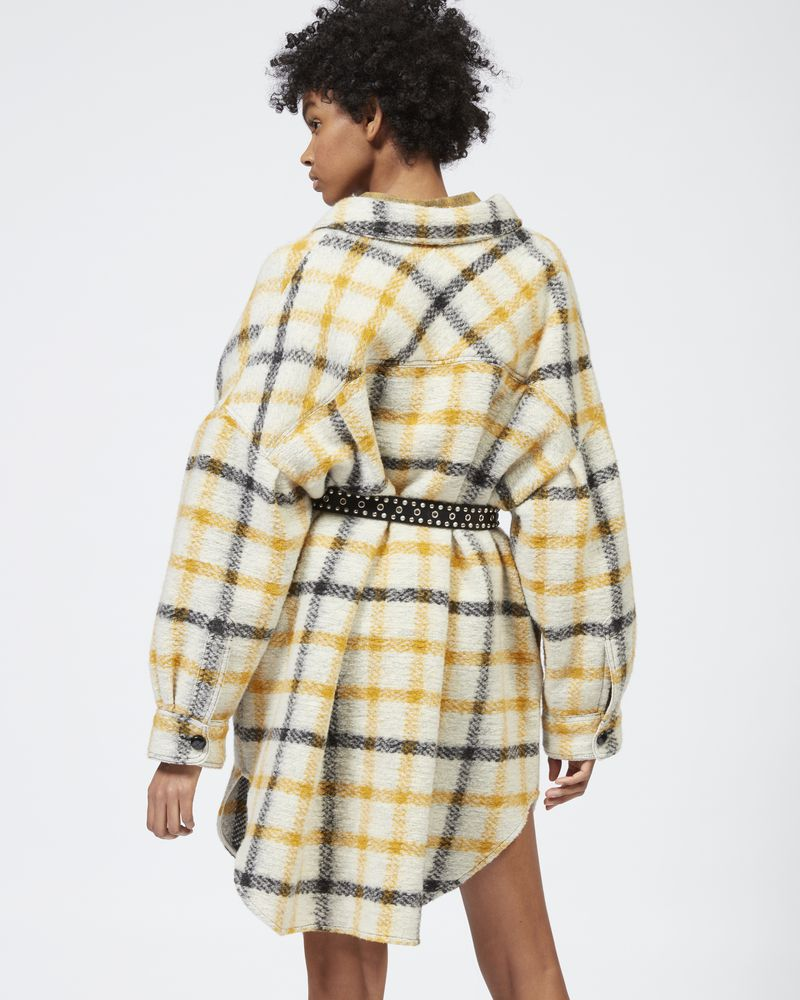 GARIO checked coat ISABEL MARANT ÉTOILE