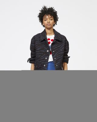 ISABEL MARANT ÉTOILE JACKET Woman LEMMA short jacket r