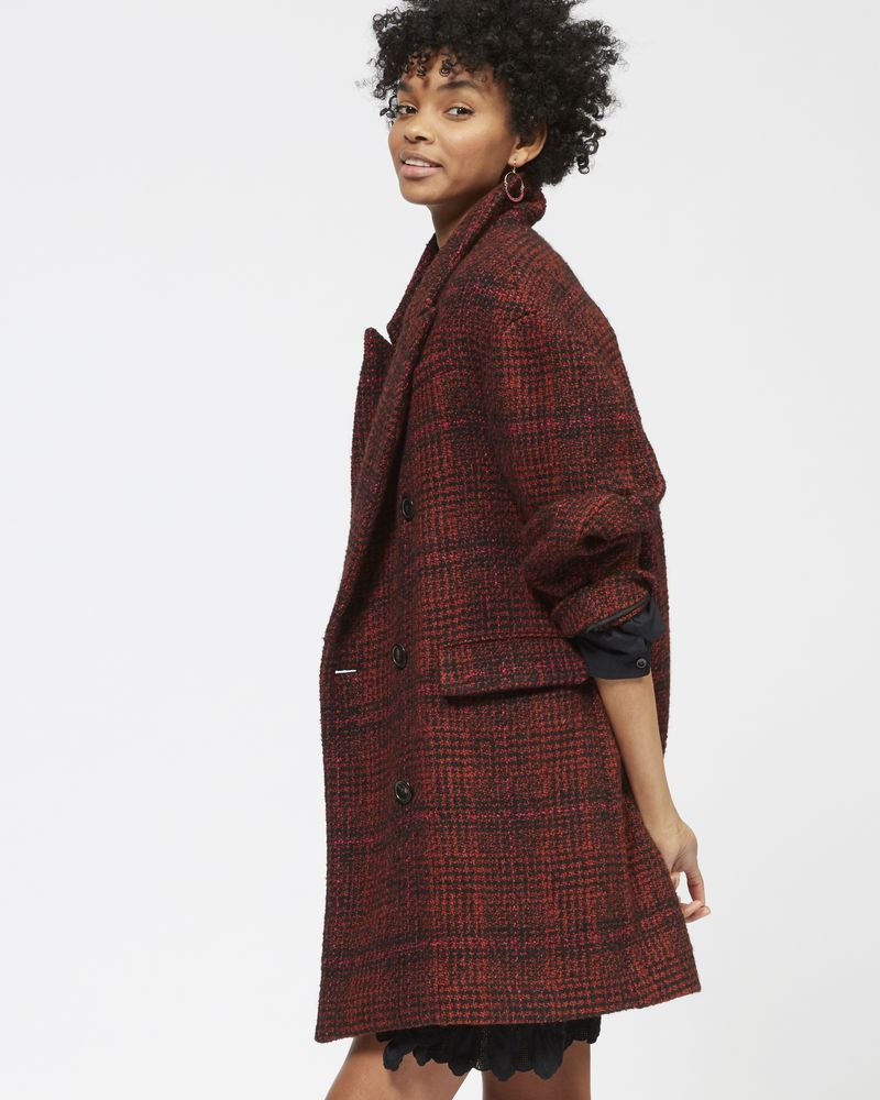EBRA double breasted wool coat ISABEL MARANT ÉTOILE