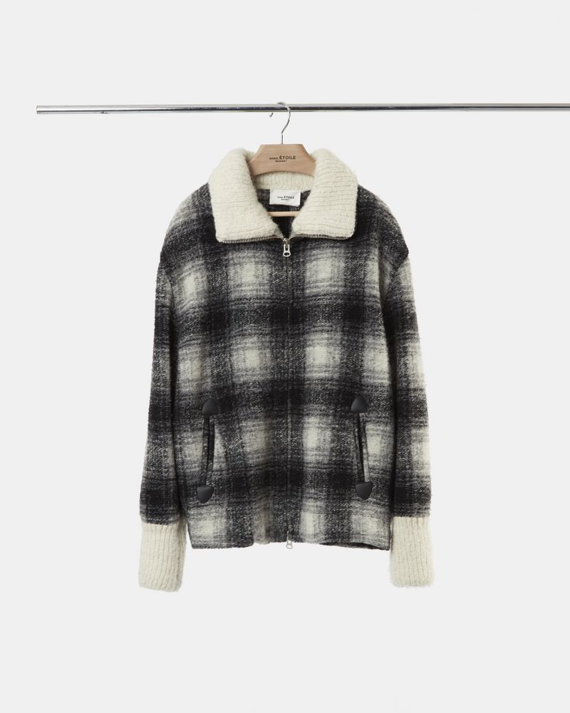 GIMO checked coat ISABEL MARANT ÉTOILE