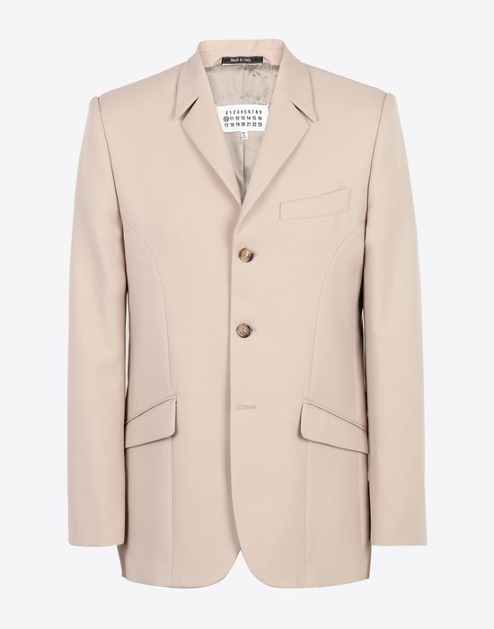 MAISON MARGIELA Classic tailored jacket Blazer [*** pickupInStoreShippingNotGuaranteed_info ***] f