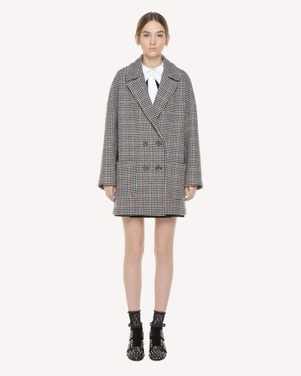 REDValentino Coat Woman QR3CA1R03SU 0NO f