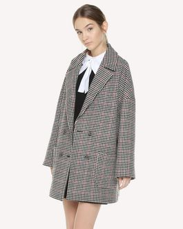 REDValentino Double Windowpane oversize coat