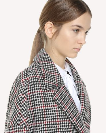 REDValentino QR3CA1R03SU 0NO Coat Woman e