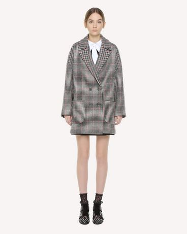 REDValentino QR3CA1R03SU 0NO Coat Woman f