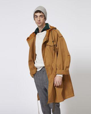 DUANO oversize coat