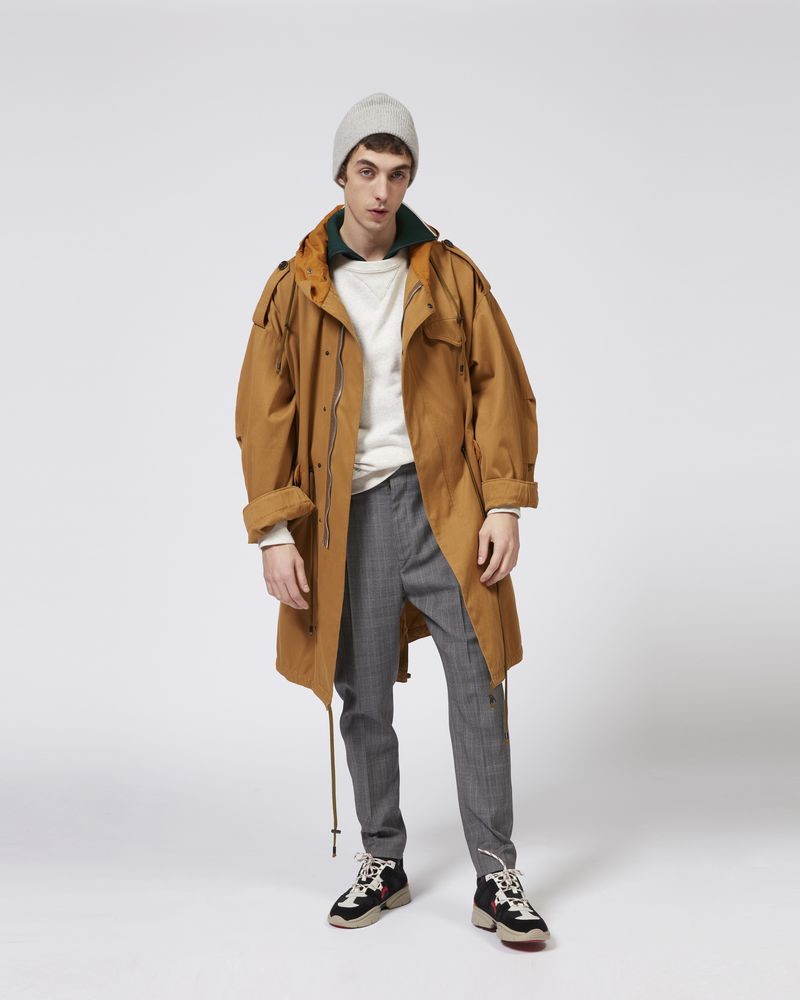 DUANO oversize coat ISABEL MARANT