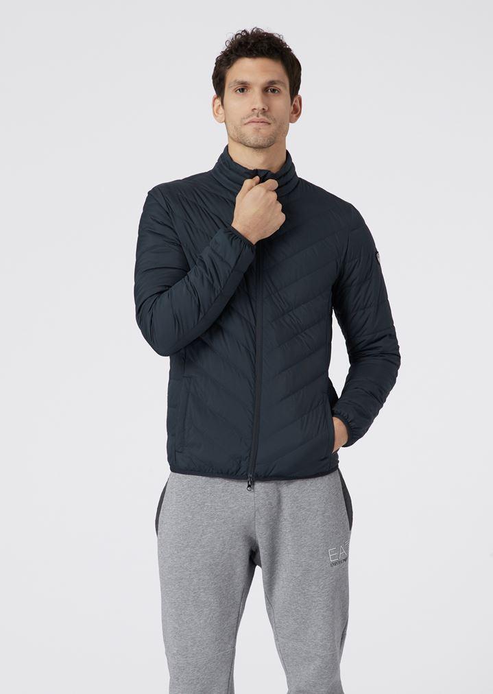 Full-zip technical fabric down jacket   Man   Ea7 c1a978e5c73