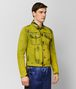 BOTTEGA VENETA DARK CHAMOMILE DENIM JACKET Outerwear and Jacket Man rp