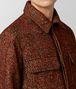 multicolor wool jacket  Front Detail Portrait