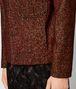 multicolor wool jacket  Back Detail Portrait