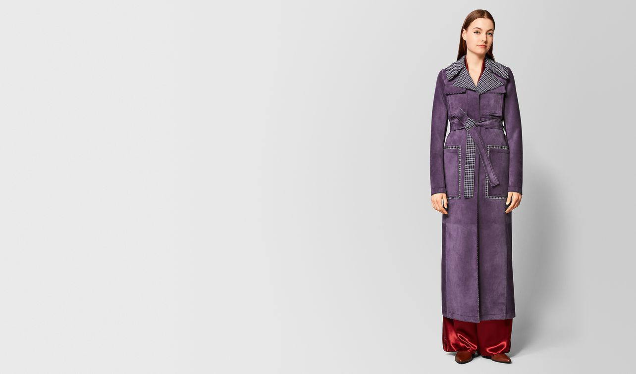 grape suede/wool coat landing