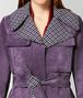 BOTTEGA VENETA CAPPOTTO IN LANA E SUEDE GRAPE Outerwear e giacca Donna ep