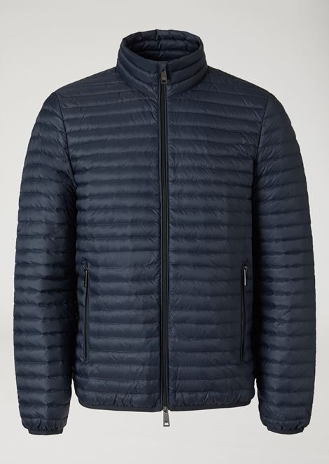 TECHNICAL FABRIC DOWN JACKET