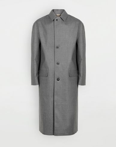 MAISON MARGIELA Raincoat [*** pickupInStoreShippingNotGuaranteed_info ***] Wool trench coat f