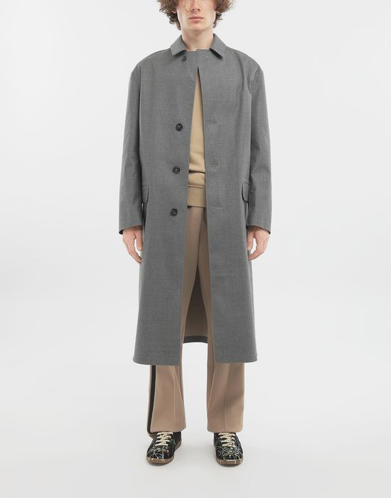 MAISON MARGIELA Wool trench coat Raincoat [*** pickupInStoreShippingNotGuaranteed_info ***] d