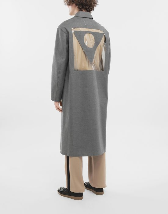 MAISON MARGIELA Wool trench coat Raincoat [*** pickupInStoreShippingNotGuaranteed_info ***] e