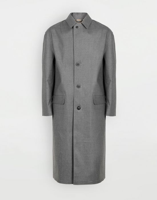 MAISON MARGIELA Wool trench coat Raincoat [*** pickupInStoreShippingNotGuaranteed_info ***] f