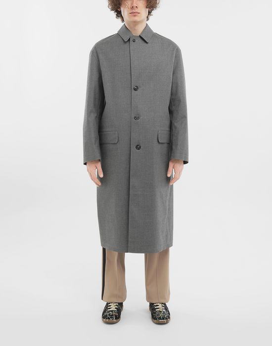 MAISON MARGIELA Wool trench coat Raincoat [*** pickupInStoreShippingNotGuaranteed_info ***] r