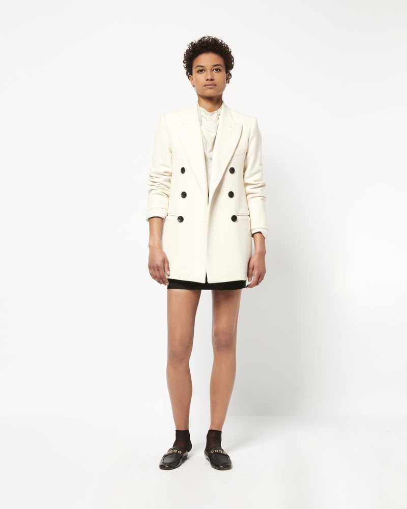 KYNE pea coat in cotton and wool ISABEL MARANT