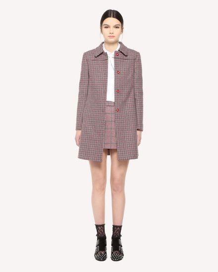 REDValentino Coat Woman QR3CA1Q53SC C61 f