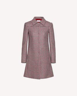 REDValentino Houndstooth coat