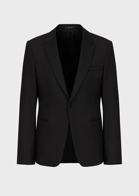 Tuxedo Jacket with Satin Lapels