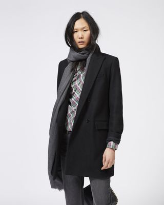 ISABEL MARANT ÉTOILE COAT Woman IKEN double breasted coat r