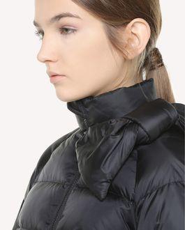 REDValentino Nylon down jacket, with bows