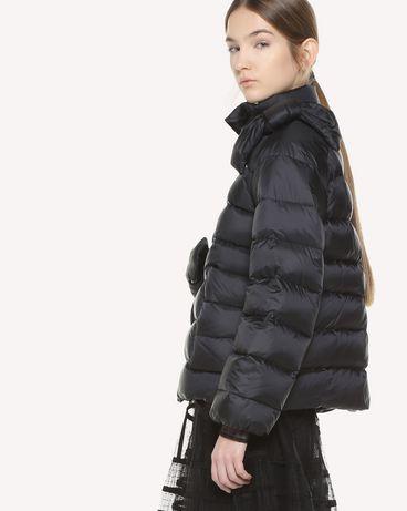REDValentino QR3CN00K40U 0NO Light jacket Woman d