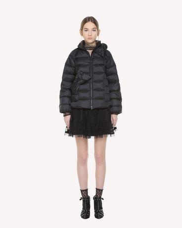 REDValentino QR3CN00K40U 0NO Light jacket Woman f