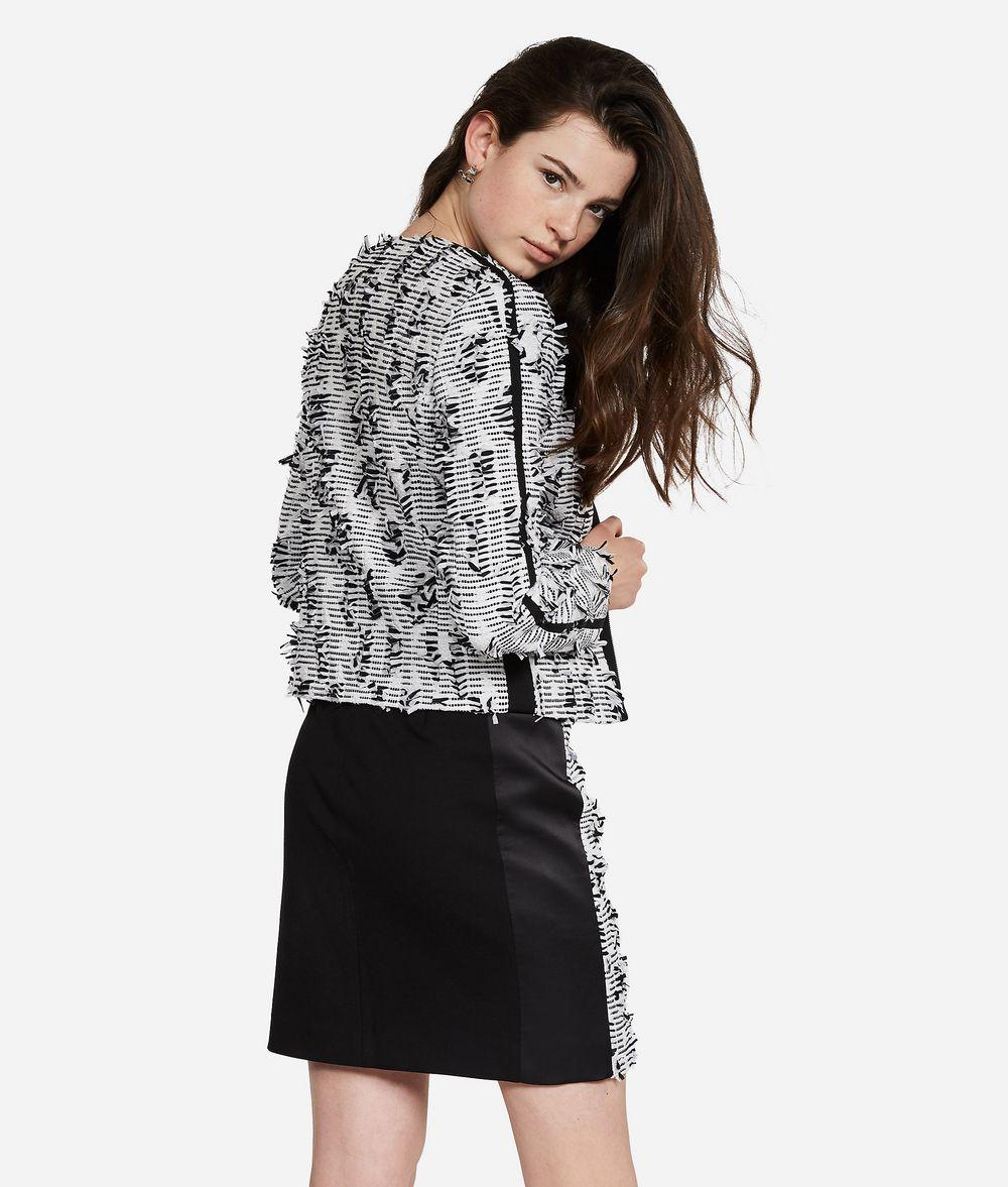 KARL LAGERFELD Karl Bouclé Jacket Jacket Woman d