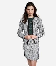 KARL LAGERFELD Jacket Woman Karl Bouclé Jacket f