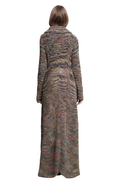 MISSONI Trench coat Khaki Woman - Front