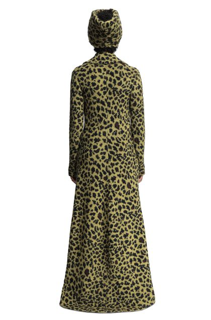 MISSONI Trench coat Acid green Woman - Front