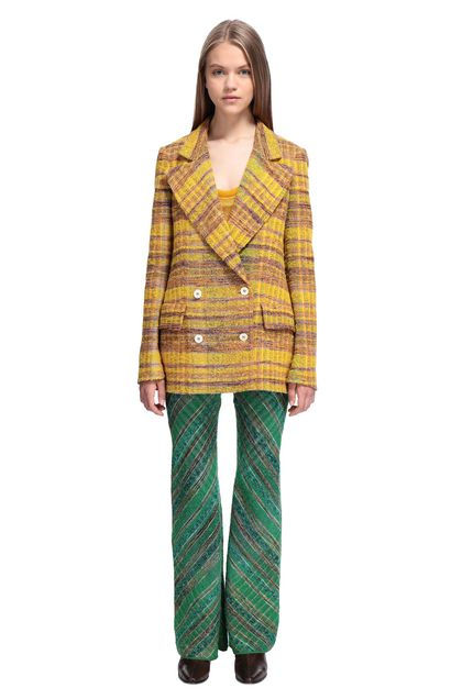MISSONI Jacket Yellow Woman - Back