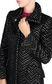 JUST CAVALLI Geometric-detail coat Coat Woman e