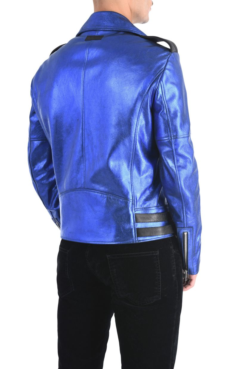 JUST CAVALLI Stardust leather jacket Leather Jacket Man d