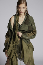 DSQUARED2 Operation Blue Beam Jacket Kaban Woman