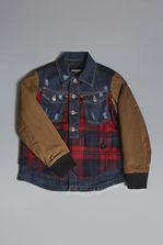 DSQUARED2 Denim Check Jacket JACKET/BLAZER Man