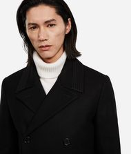 KARL LAGERFELD Wool-Cashmere Peacoat 9_f