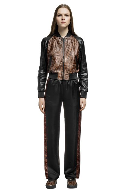 MISSONI Bomber Brown Woman - Back