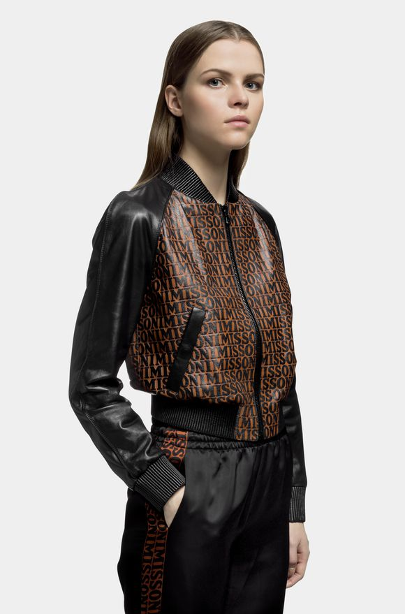 MISSONI Bomber Woman, Detail