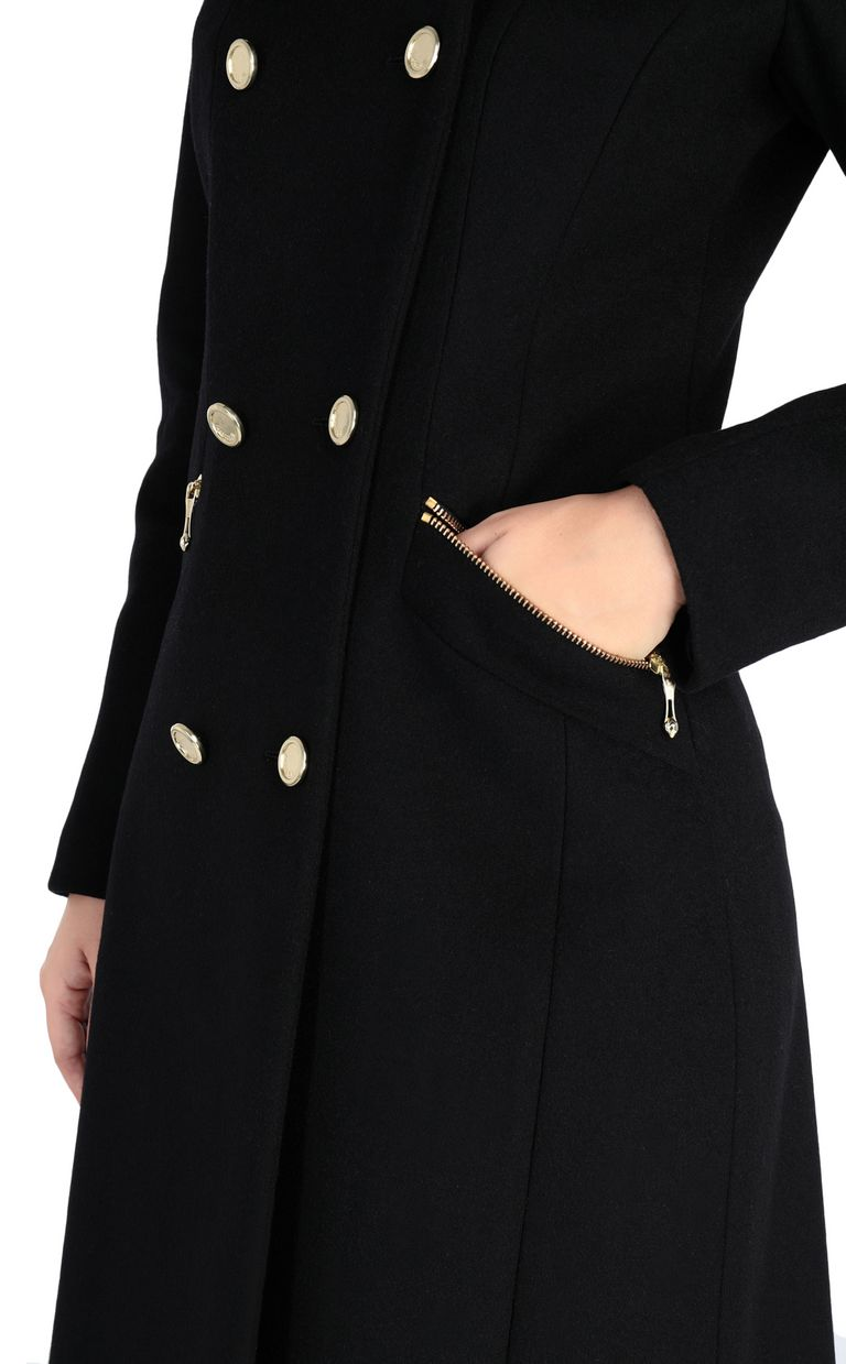 JUST CAVALLI Classic coat Coat [*** pickupInStoreShipping_info ***] e