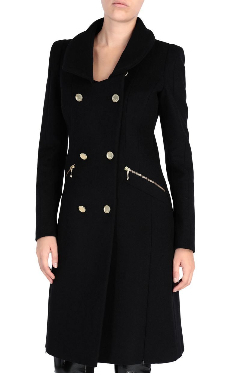 JUST CAVALLI Classic coat Coat [*** pickupInStoreShipping_info ***] f
