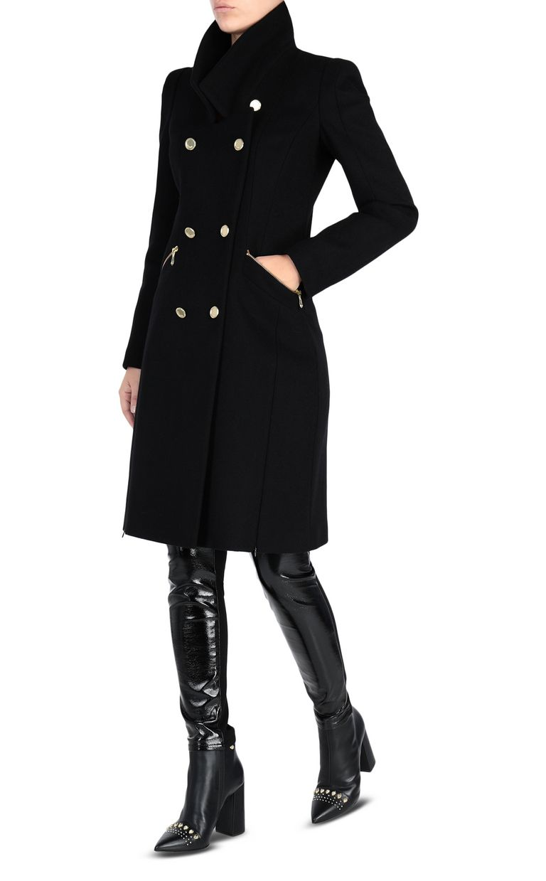 JUST CAVALLI Classic coat Coat [*** pickupInStoreShipping_info ***] r