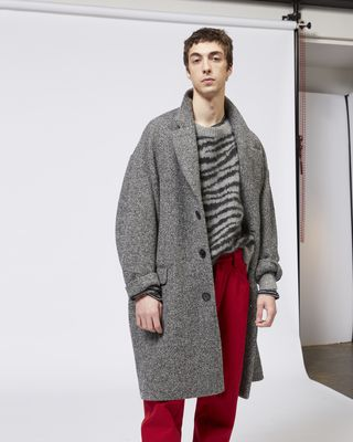 FAXON chevron coat