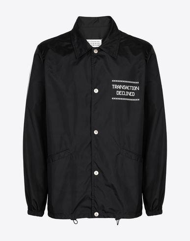 MAISON MARGIELA Jacket Man Nylon rain jacket f